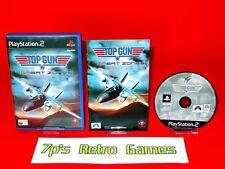 TOP GUN Combat Zones (PS2) Topgun Complete ✔️ 60GB PS3 Compatible