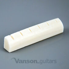 NEW High quality Left Handed Vanson 43mm Bone Nut for Acoustic Guitars AC1 LH