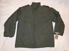 NWT'S ROTHCO OD GREEN M-65 FIELD COAT WITH QUILTED LINER EXTRA LARGE REGULAR