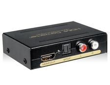 AY60 HDMI to HDMI+Audio L+R Speakers SPDIF 1080P HD Converter