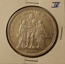 1873A France 5 Francs - KM 820.1 - 900 silver 25 grams # 4 - nice coin