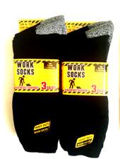 THERMAL SOCK-WORK SOCKs-12 PAIR GENTS WORK SOCK-MENS SOCK 6-11-MENS WORK SOCK