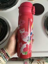 STARBUCKS THERMOS 2016 Cheery SAKURA Stainless Steel  Bottle TUMBLER 500ml JAPAN