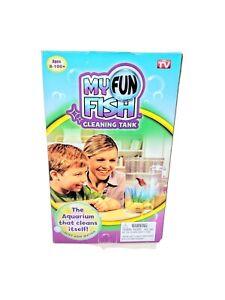 Kids Fish Tank Self Clean Fish Tank Low Maintenance Fun Gift Easy Setup Aquarium