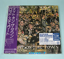 ROD STEWART A Night On The Town Japan mini lp cd SHM brand new & ss