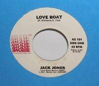 JACK JONES - THE LOVE BOAT - Applause Records  - Samba Disco Version 45 - Hear!