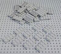 Lego Light Bluish Grey 2x4 Plate (3020) x10 in a set *BRAND NEW Star Wars City