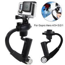 Black Mini Handheld Camera Stabilizer Video Steadicam Gimbal for GoPro Hero 4 3+