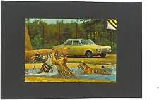 AK Knuthenborg Safari Park Maribo Dänemark Raubkatzen Tiger Ford Taunus