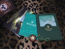 ROLEX 5 PCS SET SUBMARINER GREEN FAT FOUR 16610LV 16610 LV ITALIA ITA 2.2004