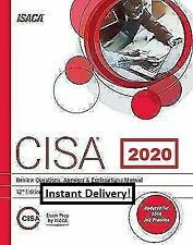 CISA Review Questions Answers & Explanations 12th Edition-ISACA Instant Delivery