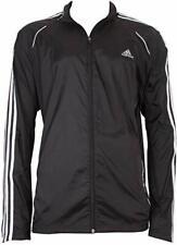 Nwt! Adidas Response 3 Stripes Men's Windbreaker Jacket, V39757 Size Xl Black