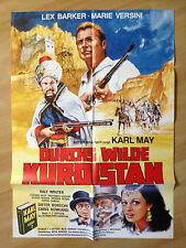 Filmposter * Kinoplakat * Durchs wilde Kurdistan * Karl May * Barker + Versini