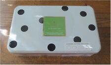 NEW KATE SPADE NEW YORK LENOX BLACK DOT 4 COOKIE CUTTERS w/ STORAGE TIN ~ SEALED