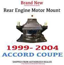 2003-2007 Honda ACCORD 2Dr 4Cyl Genuine OEM Rear Engine Mount (50810-SDA-A02)