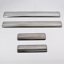 4 x Aluminium Alloy Door Sill Step Guard Protector Trims CITROEN
