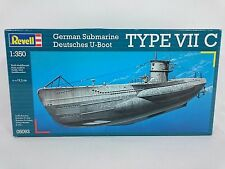 REVELL 05093 German Submarine Deutsches U-Boot Type VII C 1:350 New Unopened