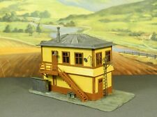 HO 1:87 BUILT Model Building LARGE RAILROAD INTERLOCKING SWITCH CONTROL TOWER
