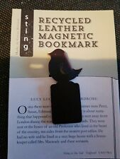 Recycled Leather Magnetic Bookmark