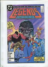 Legends #1  - FIRST AMANDA WALLER! THE EPIC OF THE CENTURY! - (8.0) 1986
