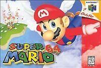 OEM Super Mario 64 Nintendo 64 N64 Authentic Video Game Cart Rare Classic Retro
