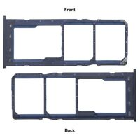 For Samsung Galaxy A10 Dual Sim Micro SD Memory Card Tray Slot Holder Blue A105F