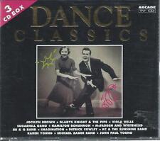 3 CD album BOX -  DANCE CLASSICS - ARCADE HOLLAND - GOLD PLATED EDITION CD'S