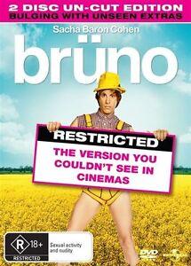 Bruno (DVD, 2009, 2-Disc Set) Sacha Baron Cohen, Josh Meyers, Clifford Banagale