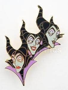 Disney Auction Character Profile Maleficent Pin
