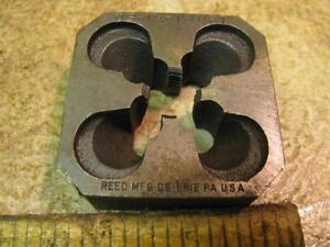 """Reed 0S1/4 1/4""""-18 Block Die Hand Pipe Threader 2""""x2"""" 0sp"""