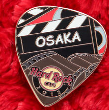 Hard Rock Cafe Pin OSAKA Postcard GUITAR PICK Universal Citywalk serie film reel