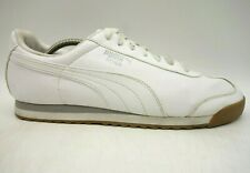 Puma Roma White Leather Casual Athletic Fashion Sneakers Shoes Men's 11.5