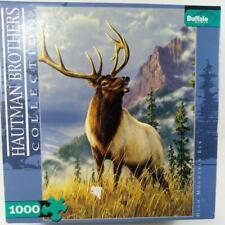 High Mountain Elk Hautman Brothers Puzzle 1000 Piece Buffalo Games 27 x 20 ELK