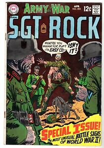 Our Army at War featuring Sgt. Rock #205, Fine Condition