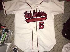 Wilson Radford Highlanders Baseball #6 Button Up Game Worn Jersey Size 44