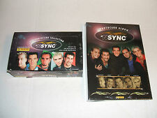 Nsync Trading Cards Full Wax Box 36 Packs + Album + Sheets Justin Timberlake Set