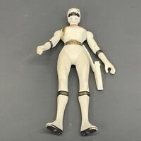 "RARE 2001 Alyssa White Ranger 5.5"" Bandai Action Figure Power Rangers Wild Force"