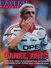 Programm 1998/99 FC Bayern München - Mönchengladbach