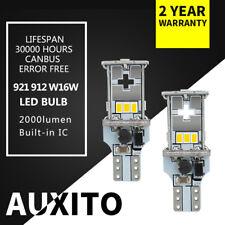 2pcs Canbus Error Free 921 LED Backup Reverse light bulb 3020 chip White lamp F6