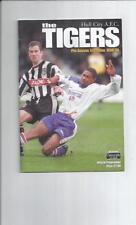 Teams F-K Hull City Pre-Season/ Friendly Football Programmes