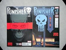 THE PUNISHER VOLUME 11 N° 1 A 5 VO NEUF / NEAR MINT / MINT