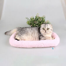 1PCS Pets Bed Cushion Dog Cat Warm Mat Sleeping Soft Pad Bed Puppy Houses AU S-L
