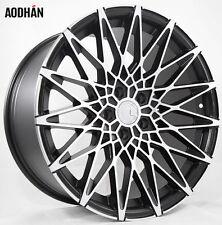 19X8.5 AodHan LS001 5X112 +40 Black Wheels Fits VW jetta (MKV,MKVI) Passat B6