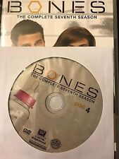 Bones - Season 7, Disc 4 REPLACEMENT DISC (not full season)