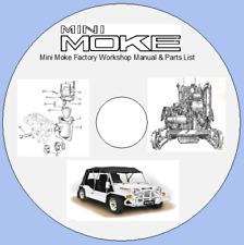 Mini Moke Factory Workshop Manual & Parts List
