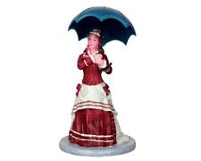 "Lemax 42251 "" Elegant Lady "" New Christmas Valley Winterdorf Model Umbrella"