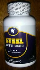 NEW Steel Bite Pro Teeth Supplement 60 capsules Exp.2022