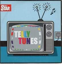 TELLY TUNES: PROMO CD - HAWAII FIVE-0, MIAMI VICE, MASH, STAR TREK, THE AVENGERS