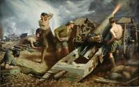 Battle of the Somme 1916 Canvas Wall Art Poster Print World War one Scene 1