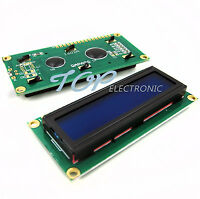 5pcs 1602 16x2 Character LCD Display Module HD44780 Controller Blue Blacklight
